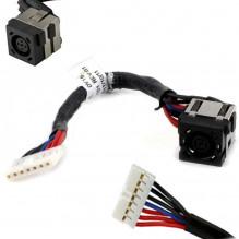 DELL INSPIRON 15R N5040 N5050 M5040 įkrovimo lizdas su laidu