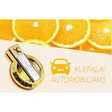 Naujiena! Prabangūs automobilio kvepalai oro kondicionieriaus grotelėse, citrinos kvapo