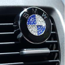 Su Austriškais Swarovskio kristalaisi BMW automobilio kvepalai, oro kondicionieriaus grotelėse