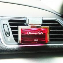 Naujiena! DIFFEREN Prabangūs automobilio kvepalai oro kondicionieriaus grotelėse, rožių kvapas