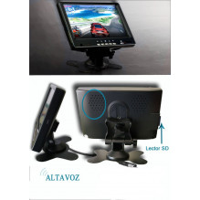 "PS-703 7.0"" Bluetooth 2 video kanalų parkavimo sistemos monitorius"