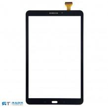 Samsung Galaxy Tab A 10.1 SM-T580 SM-T585 lietimui jautrus ekranas juodos spalvos.