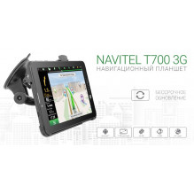 "NAVITEL T700 3G + Navigation + TV Android OS, 7 ""screen + all GPS accessories"