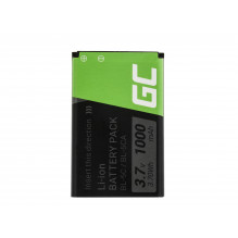 Green Cell Phone Battery BP-5C for Nokia 1200 1800 2600 3610 6600 E50 N91