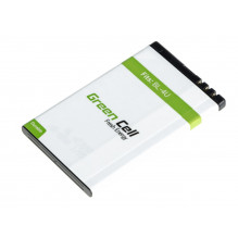 Green Cell Smartphone Battery BL-4U BL4U for Nokia 6600 E66 E75 ASHA 210 220 501