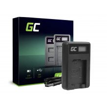 Green Cell Charger BC-TRW for Sony NP-FW50, Alpha A7 A7 II A7R A7R II A7S A7S II A5000 A5100 A6000 A6300 A6500
