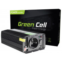 Green Cell ® Voltage Car Inverter 12V to 230V, 300W