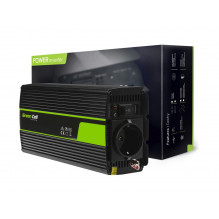 Green Cell ® Voltage Car Inverter 12V to 230V, 500W/1000W