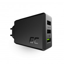 3-port charger GC ChargeSource3 3xUSB 30W with fast charging Ultra Charge i Smart Charge