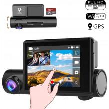 DVR DUAL GPS vaizdo...