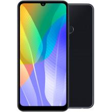 Huawei Y6P black 6.3 colių, 720 x 1600 ekranas, Octa-core,32GB 3GB talpos naujas telefonas