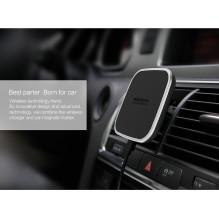 NAUJA KROVIMO TECHNOLOGIJA Belaidis telefonų automobilinis, universalus, ORIGINALUS NILLKIN II įkroviklis+laikiklis