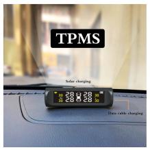 NAUJIENA! TPMS 18 External padangų slėgio matuoklio rinkinys, TPMS 4 vnt  jutikliai