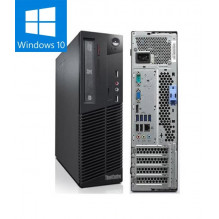 LENOVO THINKCENTRE M92P naudotas stacionarus kompiuteris HDD 250GB / 8GB RAM / INTEL CORE I5