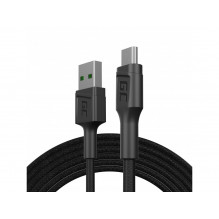 Cable  Green Cell GC PowerStream USB-A - Micro USB 200cm Ultra Charge, QC 3.0
