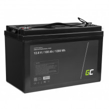 LiFePO4 battery 100Ah 12.8V 1280Wh lithium iron phosphate battery photovoltaic system camping truck