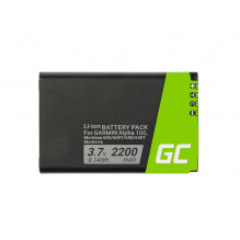 Battery Green Cell® 361-00053-00 for GPS Garmin Alpha 100 Montana 600 610 650 680