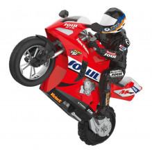 RC nuotolinio valdymo pultu valdomas motociklas HC-802 kaskadininkų, lenktynių