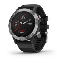 Garmin Fenix 6 Silver Black band