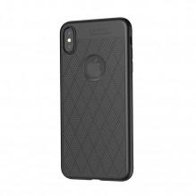 """Dėklas """"Hoco Admire Series"""" Apple iPhone XS Max juodas"""