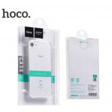 """Dėklas """"Hoco Light Series TPU"""" Apple iPhone 7 Plus/8 Plus permatomas juodas"""