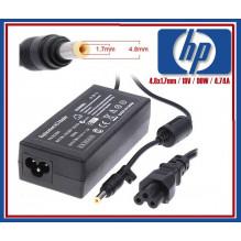 HP / Compaq 19V, 4.7A, 4.8x1.7 mm, 90W nešiojamo kompiuterio pakrovėjas