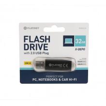 Atmintinė Platinet 32GB USB 2.0