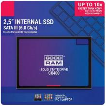 Kietasis diskas SSD GOODRAM CX400 512GB (6.0Gb / s) SATAlll 2,5