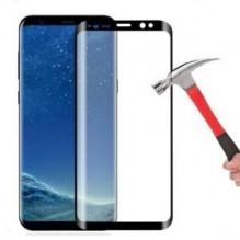"""LCD apsauginis stikliukas """"5D Full Glue"""" Samsung S8 Plus G955 lenktas juodas 0.18mm be įpakavimo"""
