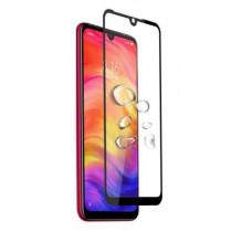 """LCD apsauginis stikliukas """"5D Full Glue"""" Xiaomi Mi A3 Lite/Mi 9 Lite/CC9 lenktas juodas be įpakavimo"""