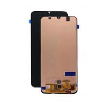 Ekranas Samsung A505 A50 2019 su lietimui jautriu stikliuku juodas originalus (service pack)