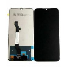 Ekranas Xiaomi Redmi Note 8T su lietimui jautriu stikliuku juodas HQ