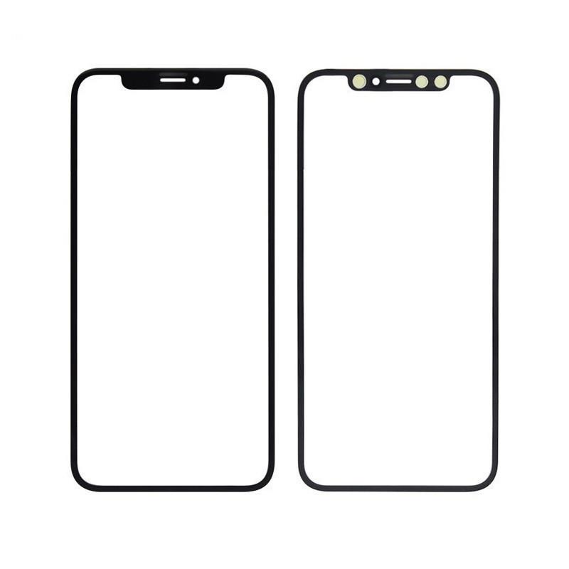 LCD stikliukas Apple iPhone X/XS su OCA juodas ORG (v2)