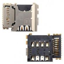 SIM ir MicroSD kortelės kontaktas Samsung i8260 Core/i8262 Core Duos/G350 Core Plus ORG