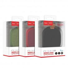 Bluetooth nešiojamas garsiakalbis HOCO BS31 (MicroSD,AUX,FM) raudonas