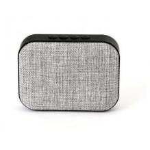 Bluetooth nešiojamas garsiakalbis OMEGA OG58 (MicroSD, laisvų rankų įranga, AUX,FM) pilkas