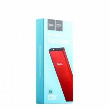 Išorinė baterija POWER BANK HOCO B16 10000mAh raudona su microUSB laidu