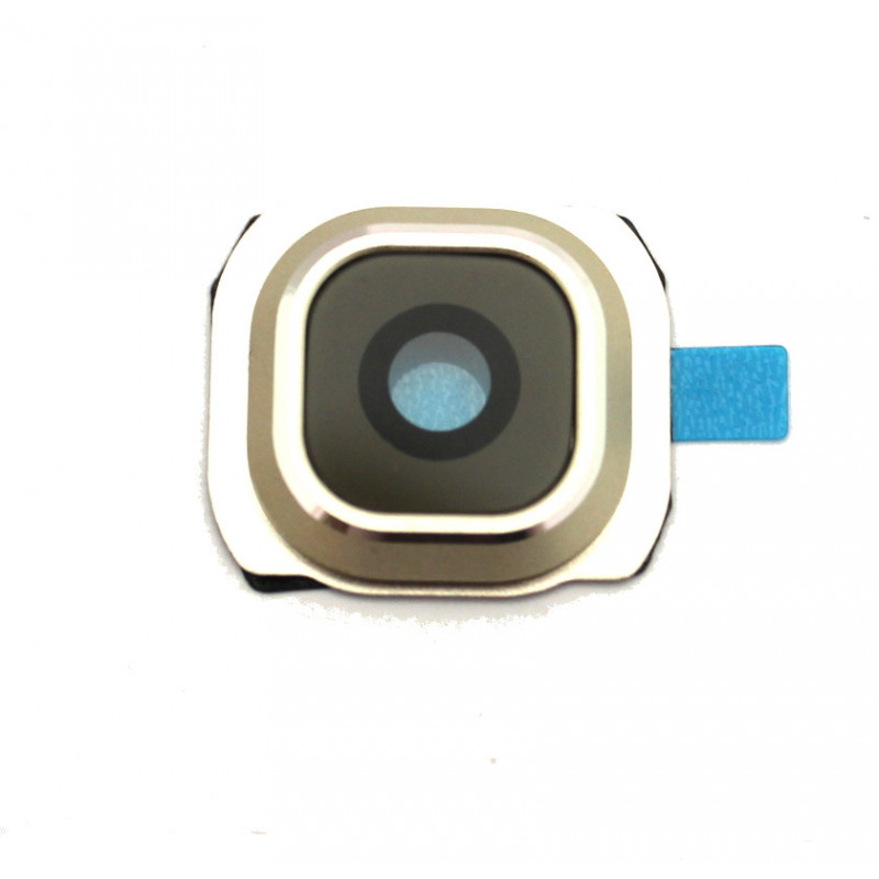 Samsung G920 S6 kameros stikliukas baltas HQ