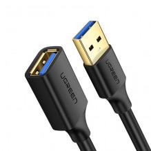 Ugreen USB kabelis USB 3.0 female - USB 3.0 male 1,5M