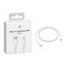 "USB kabelis Apple ""USB-C (Type-C) to Lightning Cable"" (1M) (A1703) iPhone/iPad/iPod/Macbook/iMac/AirPods originalus (used Grade"