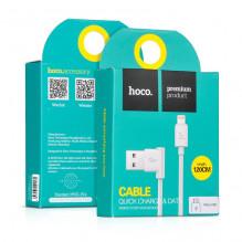 "USB kabelis HOCO UPL11 L Shape ""lightning"" 1,2m baltas"