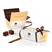 Šokoladinių triufelių dėžutė TARTUFINI DOLCI (50 g)