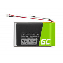 Battery Green Cell® VF8 AHL03714000 for GPS TomTom Go 530 630 720 730 930 X40 X50