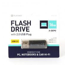 Atmintinė Platinet 16GB USB 2.0