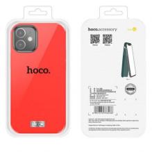 """Dėklas """"Hoco Pure Series"""" Apple iPhone 12 Mini raudonas"""