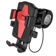 Universalus telefono laikiklis ant dviračio HOCO CA73 Flying juodas