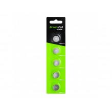 Blister 5x Battery Green Cell LR44 1.5V