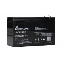 EXTRALINK AKUMULATOR BATTERY ACCUMULATOR AGM 12V 7,2AH 7AH151X65X93MM 2.1KG T1