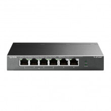 TP-LINK 6-Port 10/100Mbps Desktop Switch with 4-Port PoE+