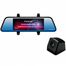 Prestigio RoadRunner 435DL, 6.86'' (1280x480) touch display, Dual camera: front - FHD 1920x1080@30fps, HD 1280x720@30fps